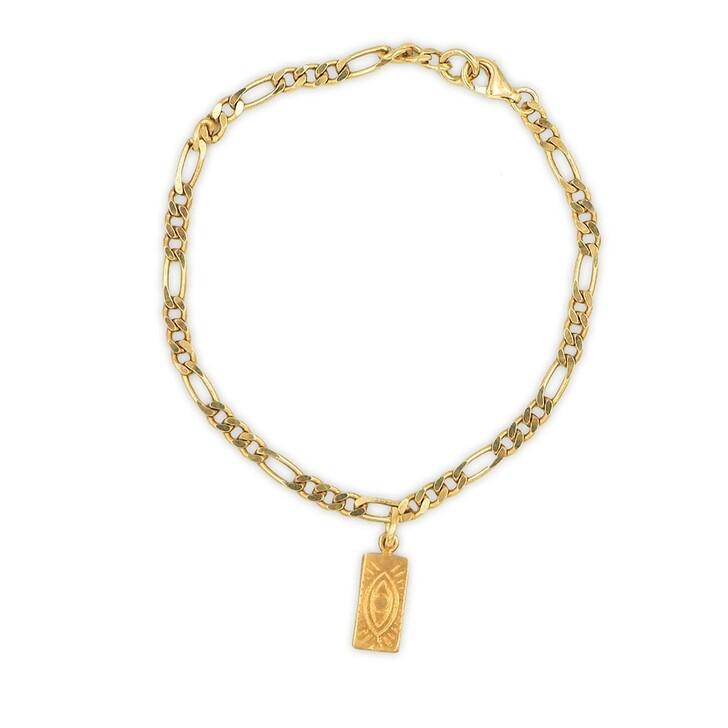Armreif, Hermina Athens, Delian Grecian Bracelet Yellow Gold