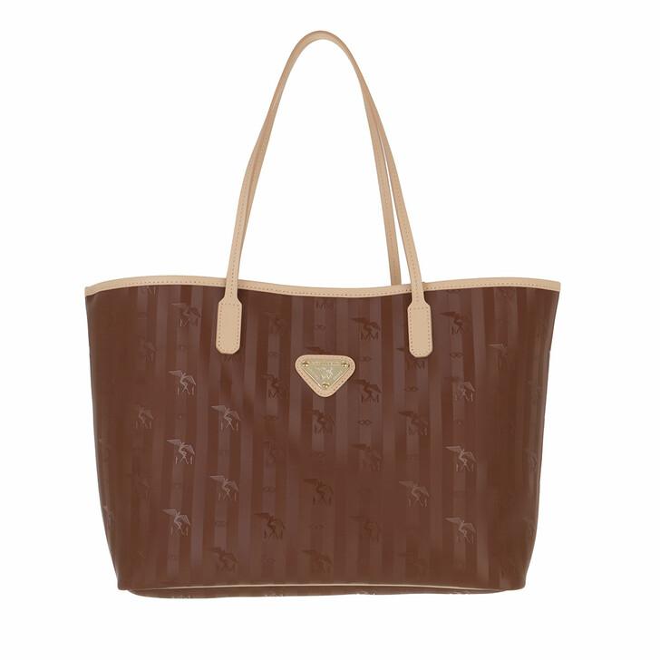 Handtasche, Maison Mollerus, Bern Shopper Hazelnut Nude