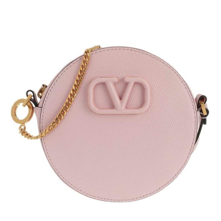 Handtasche, Valentino Garavani, Rockstud Portatutto Pouch Rose Quartz