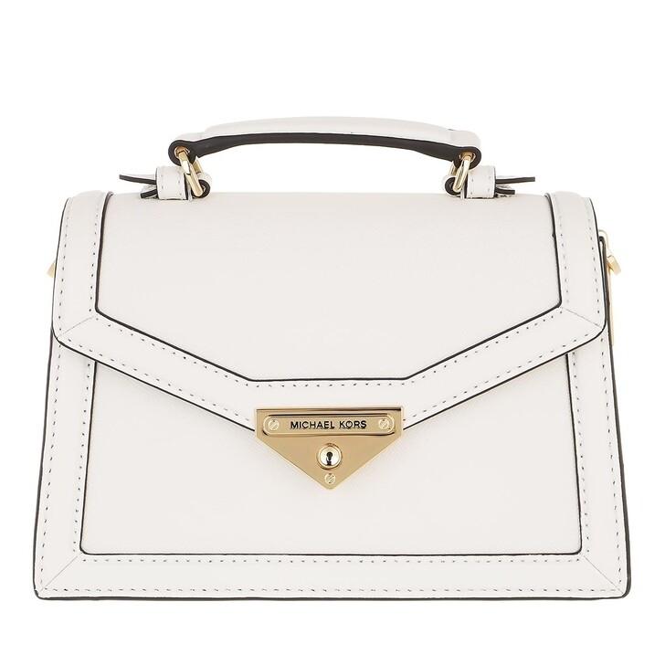 Handtasche, MICHAEL Michael Kors, Grace Small Crossbody Bag Optic White
