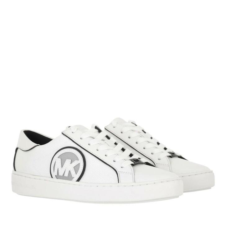 shoes, MICHAEL Michael Kors, Keaton Sneaker Black/Optic White