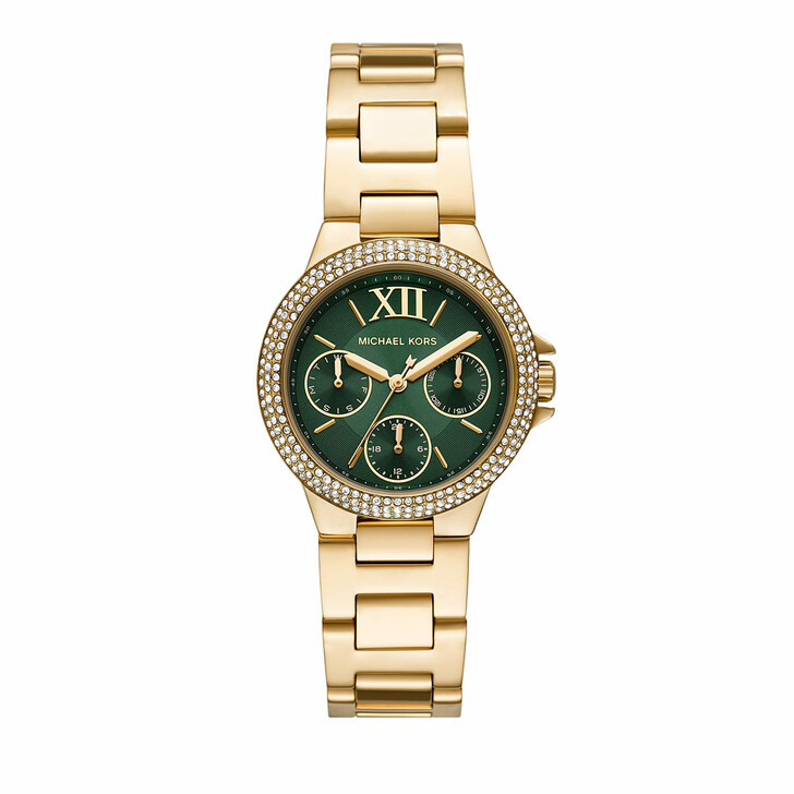 watches, Michael Kors, Women's Camille Multifunction Stainless Steel Watc Gold