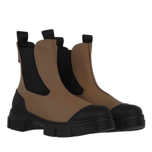 ganni -  Boots & Stiefeletten - City Boot - in braun - für Damen