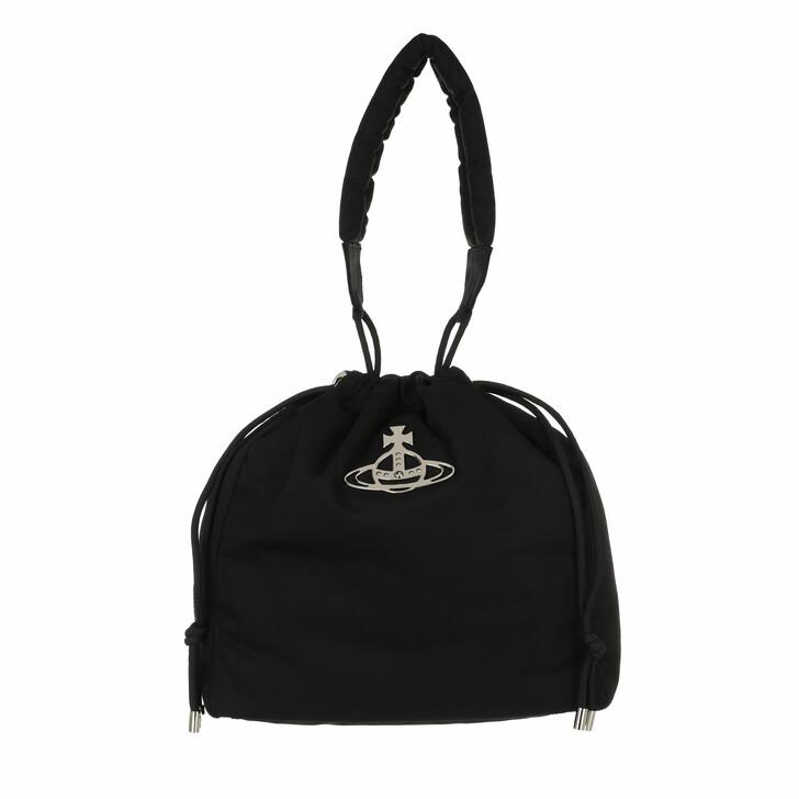 bags, Vivienne Westwood, Hilary Bucket Bag Black