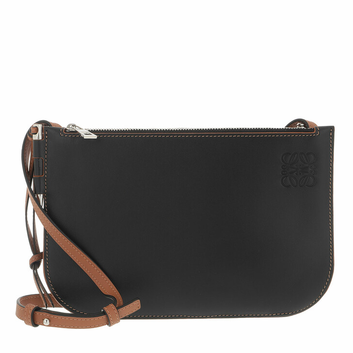 bags, Loewe, Crossbody Bag Leather Black/Tan