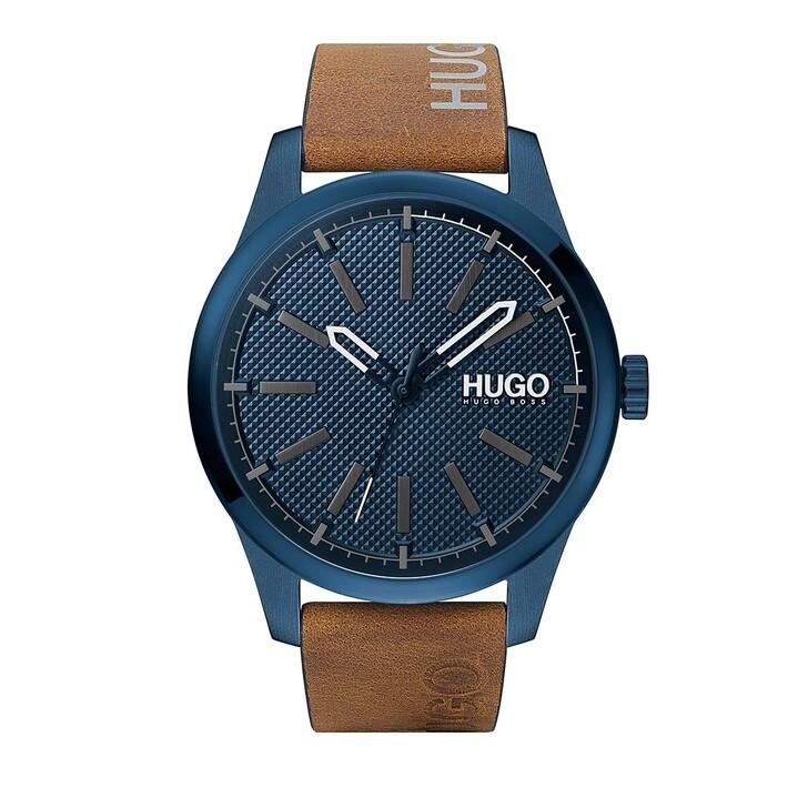 watches, Hugo, Invent Watch Brown