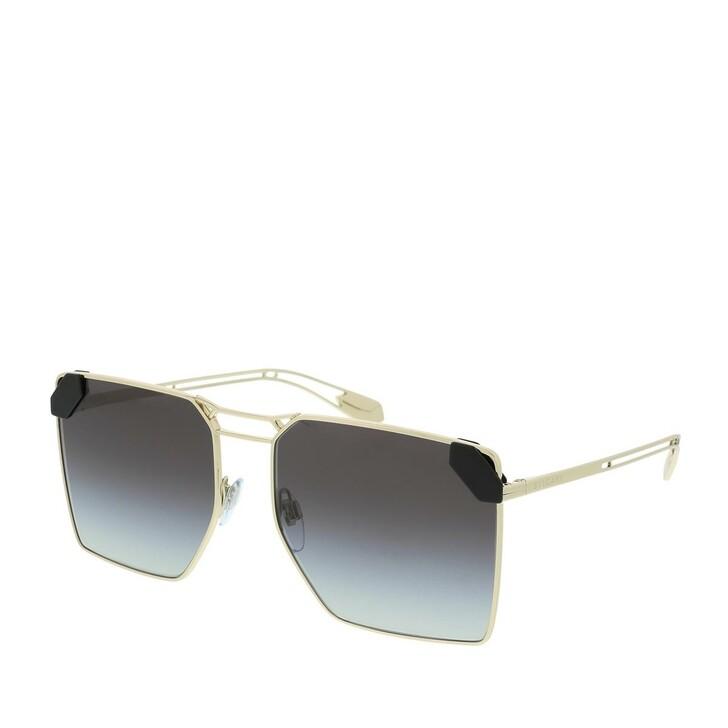 Sonnenbrille, BVLGARI, 0BV6147 278/8G Woman Sunglasses Condotti Pale Gold