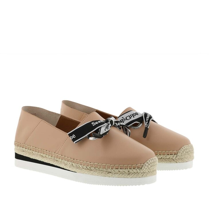 Schuh, See By Chloé, Platform Espadrilles Leather Rosellina