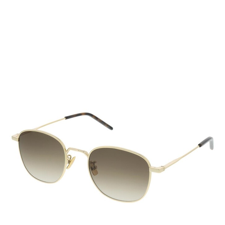 Sonnenbrille, Saint Laurent, SL 299-008 50 Sunglass UNISEX METAL Gold