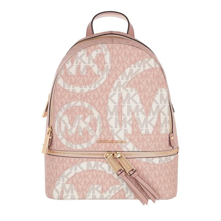 bags, MICHAEL Michael Kors, Rhea Zip Medium Backpack Ballet Multi