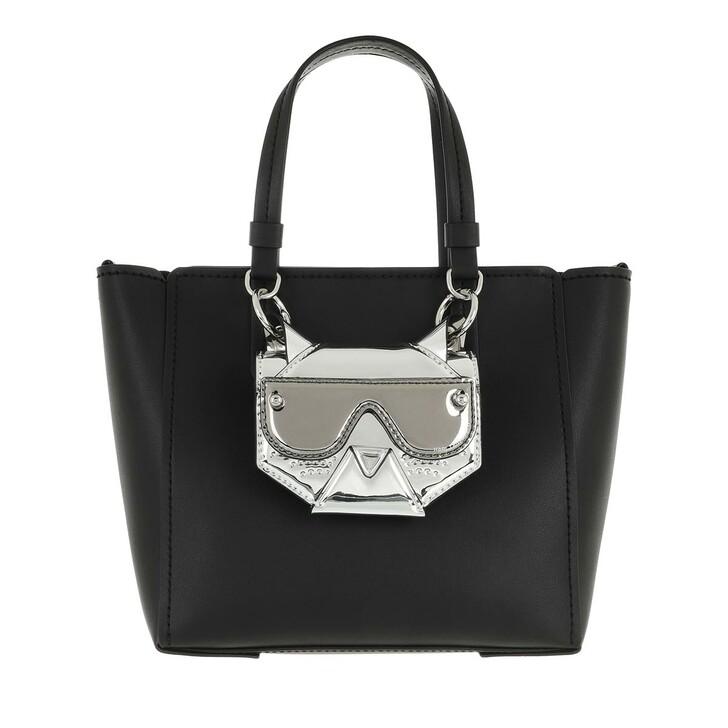 Handtasche, Karl Lagerfeld, Cyber Choupette Tote Black