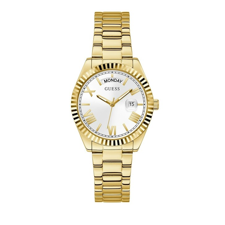 watches, Guess, Ladies Watch Luna Gold
