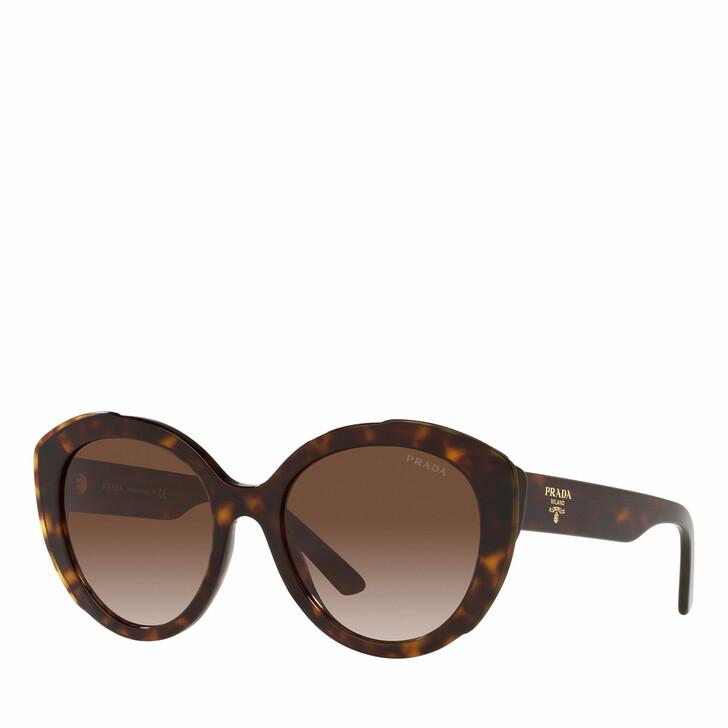 sunglasses, Prada, Woman Sunglasses 0PR 01YS Havana