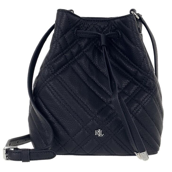 bags, Lauren Ralph Lauren, Debby Ii Drawstring Mini Lauren Navy