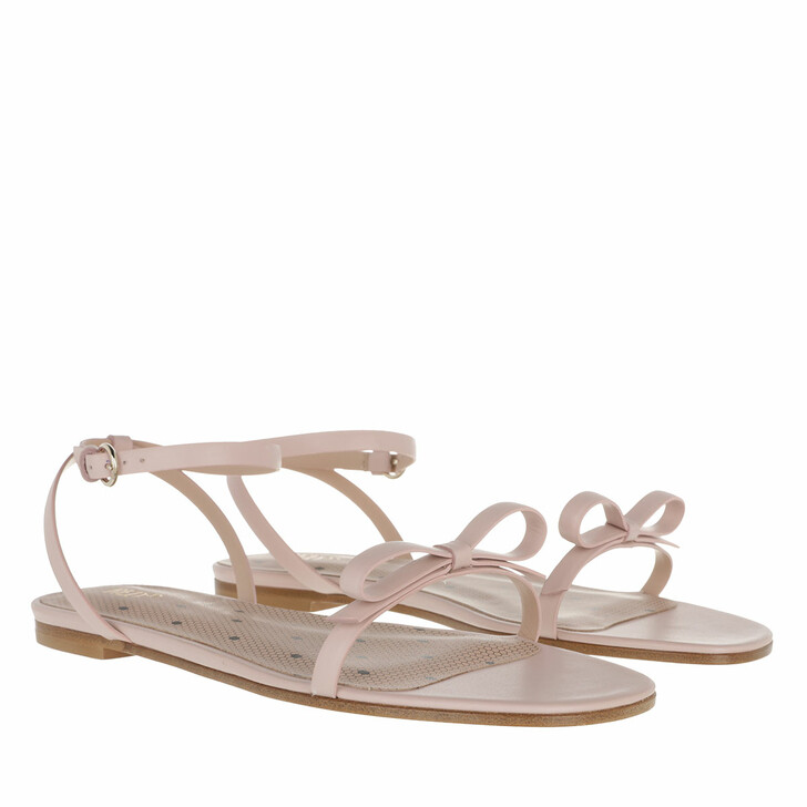 Schuh, Red Valentino, Sandal Nude