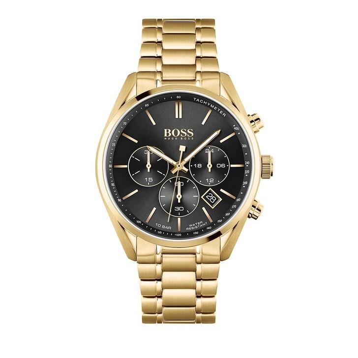 Uhr, Boss, Champion Watch Gold