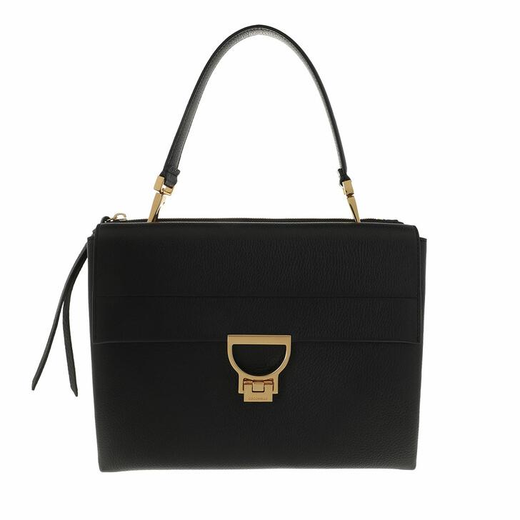 Handtasche, Coccinelle, Arlettis Satchel Bag Black