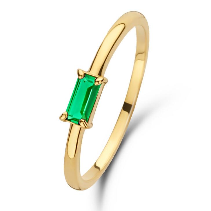 rings, Isabel Bernard, Baguette Odie 14 Karat Ring