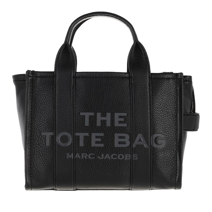Handtasche, Marc Jacobs, The Leather Mini Tote Bag Black