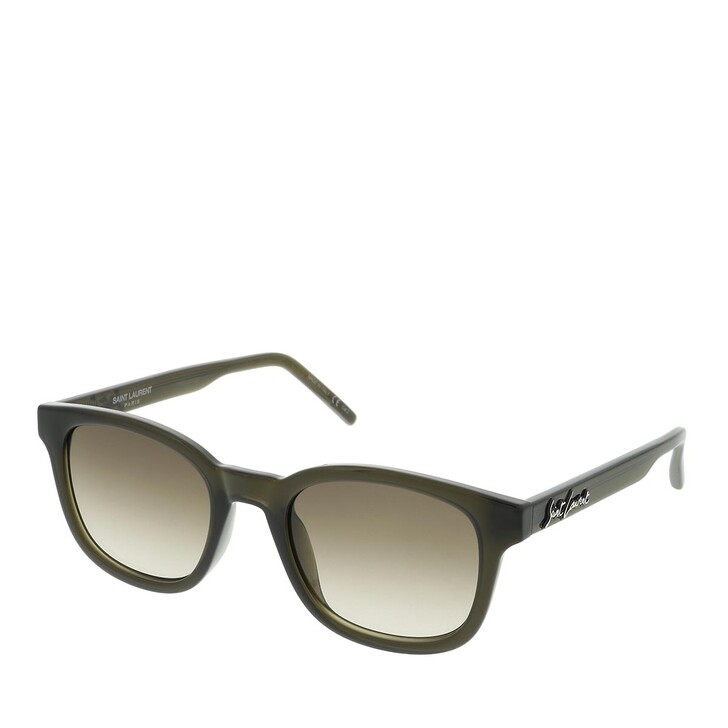 sunglasses, Saint Laurent, SL 406-004 51 Sunglass MAN INJECTION Green