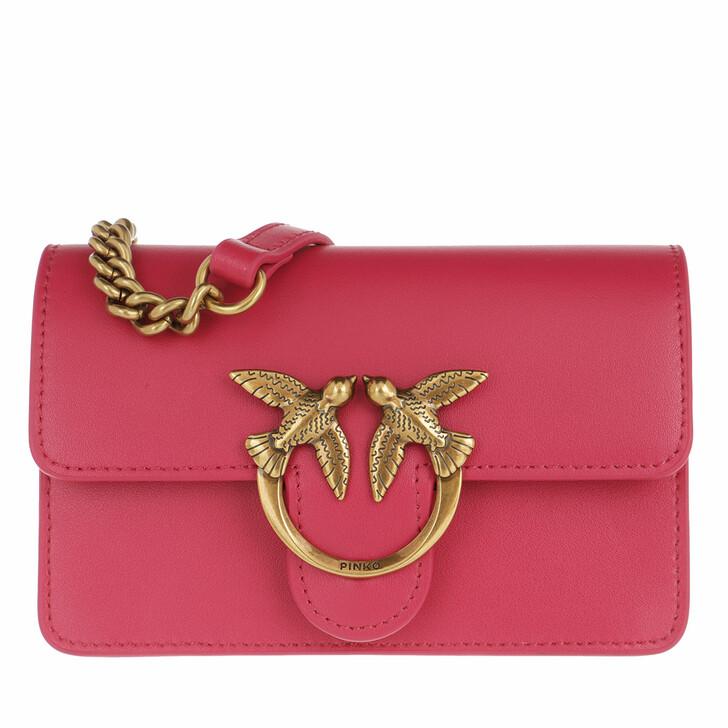 Handtasche, Pinko, Love Baby Icon Simply 1  Crossbody Brilliant Pink