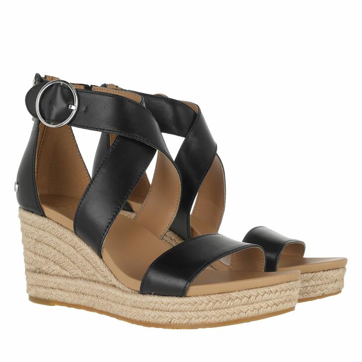 Schuh, UGG, Hylda Sandal Leather Black