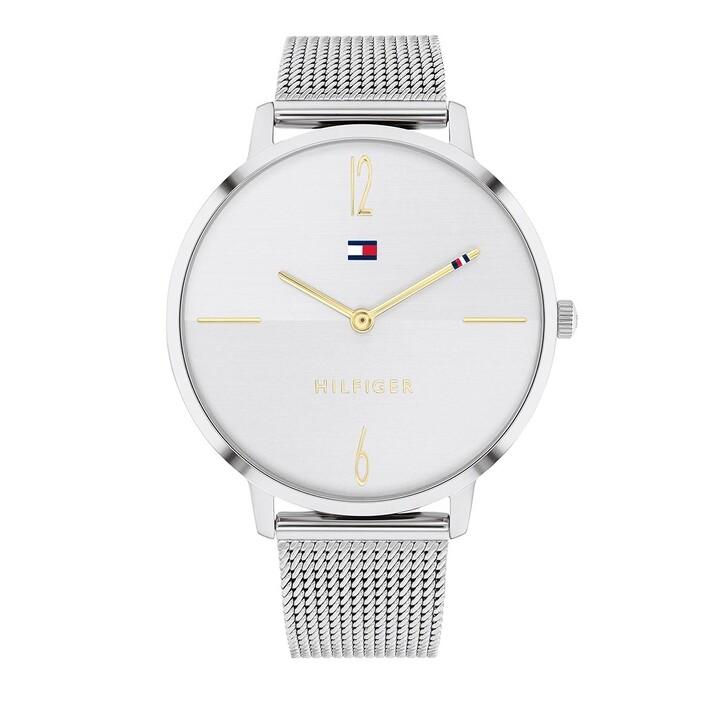 Uhr, Tommy Hilfiger, Quarz Watch Silver