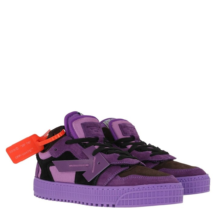 shoes, Off-White, Low Sneakers Violet