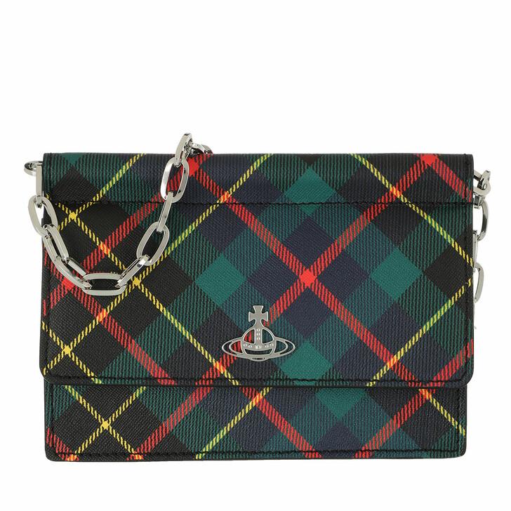 Handtasche, Vivienne Westwood, Derby Chain Belt Purse Hunting Tartan