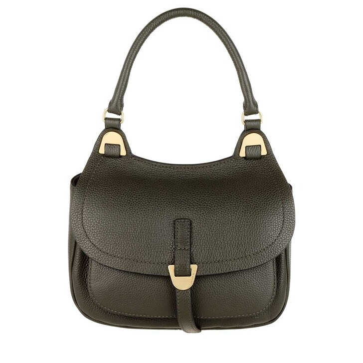 Handtasche, Coccinelle, Fauve Crossbody Leather Reef