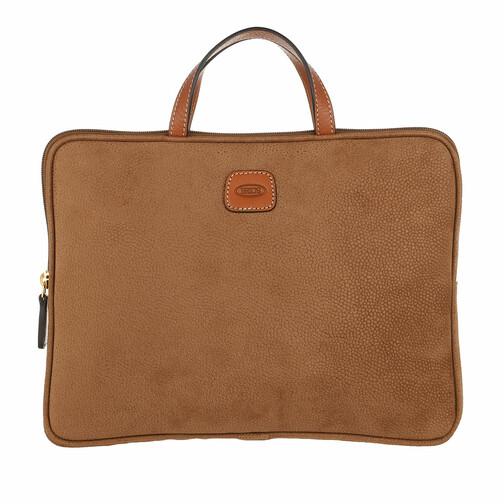 bric's -  Laptoptaschen - Life Laptop Bag - in braun - für Damen