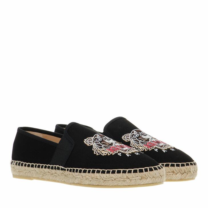 shoes, Kenzo, Espadrille Black