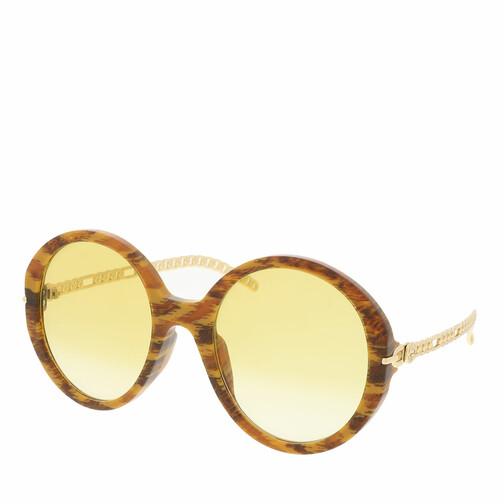 gucci -  Sonnenbrille - GG0726S-004 56 Sunglass WOMAN ACETATE - in cognac - für Damen