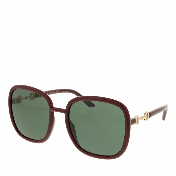 Sonnenbrille, Gucci, GG0893S-003 57 Sunglass WOMAN INJECTION RED