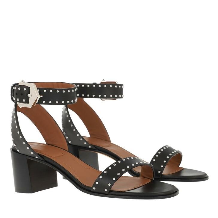 Schuh, Givenchy, Heeled Sandal Black