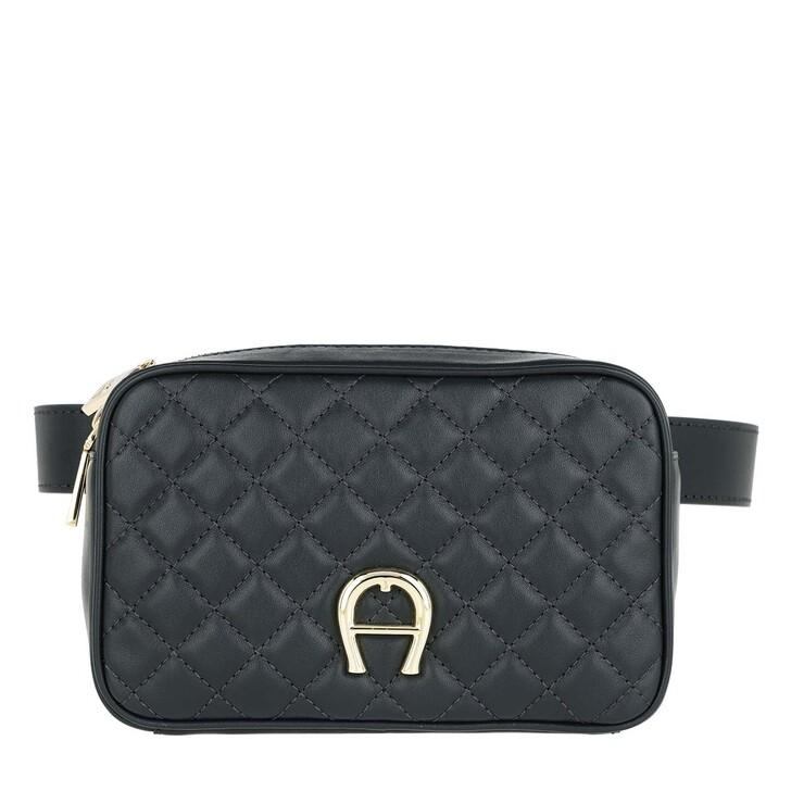 Handtasche, AIGNER, Garda Beltbag Night Grey
