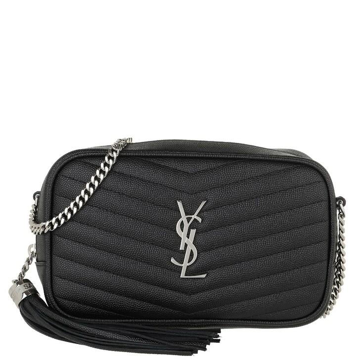 Handtasche, Saint Laurent, Lou Crossbody Bag Leather Black