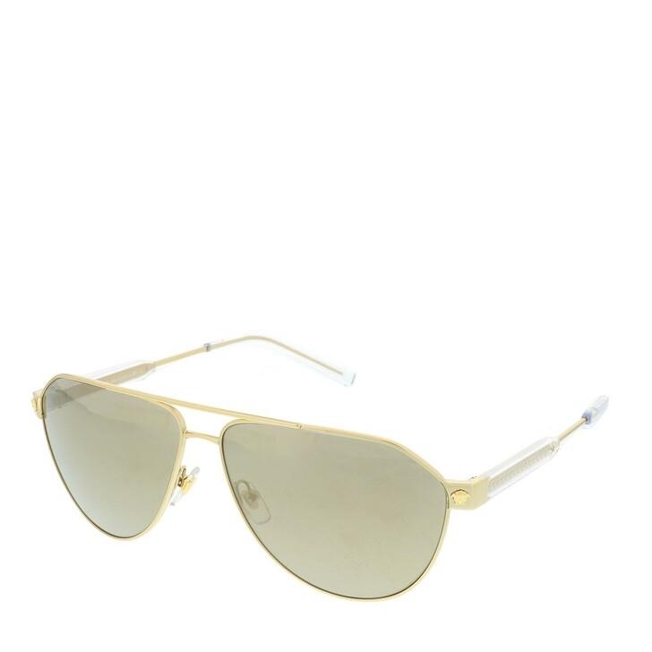 sunglasses, Versace, 0VE2223 10025A Man Sunglasses Pop Chic Gold
