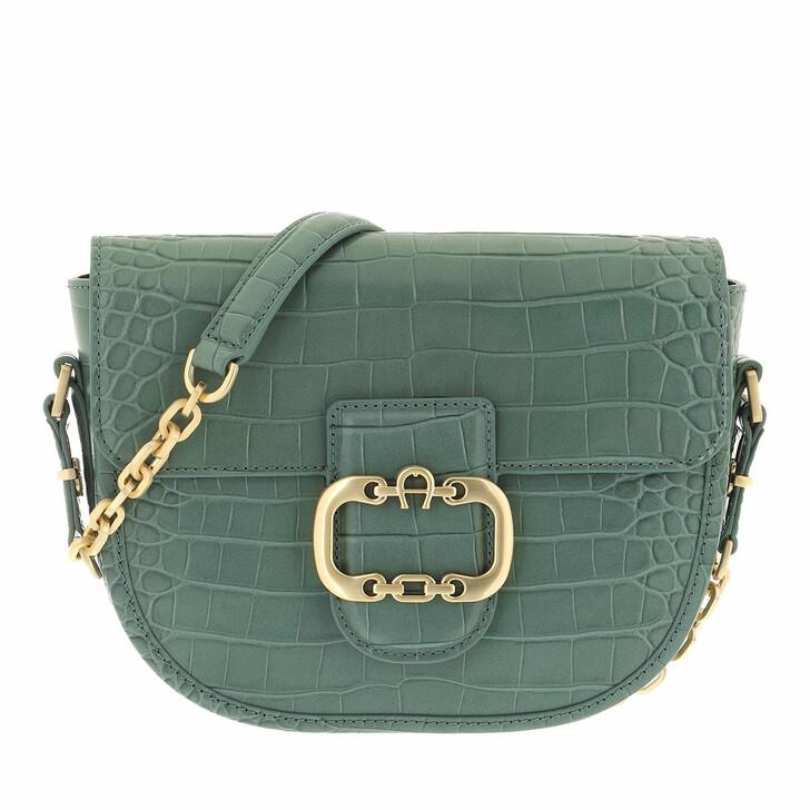 bags, AIGNER, Celia Crossbody Bag Dusty Green