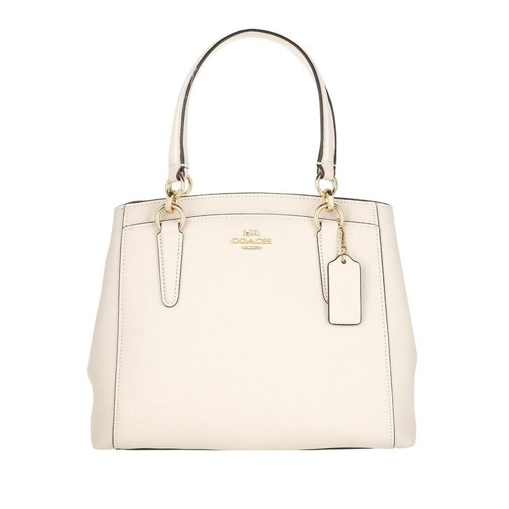 bags, Coach, Minetta Crossbody Tote Bag Leather White