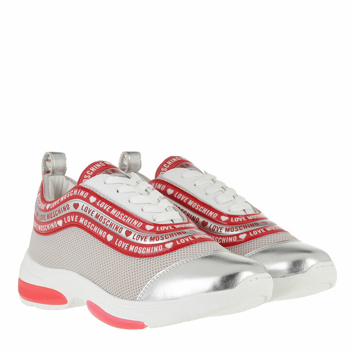Schuh, Love Moschino, Sneaker Running Multicolor