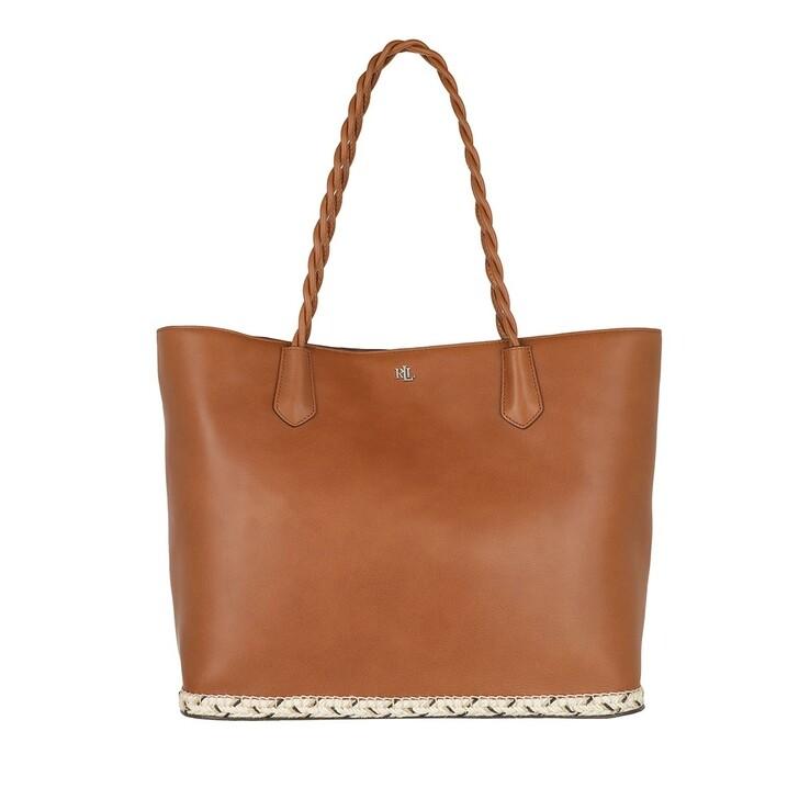 Handtasche, Lauren Ralph Lauren, Hutton 35 Tote Large Lauren Tan