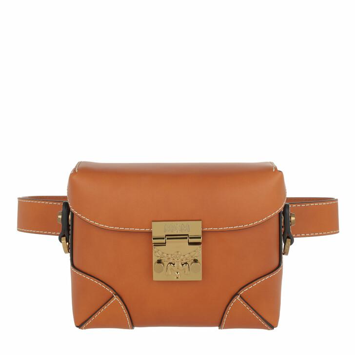 bags, MCM, Soft Berlin Vachetta Belt Bag Small Cognac