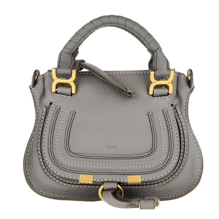 bags, Chloé, Mini Marcie Crossbody Bag Cashmere Grey