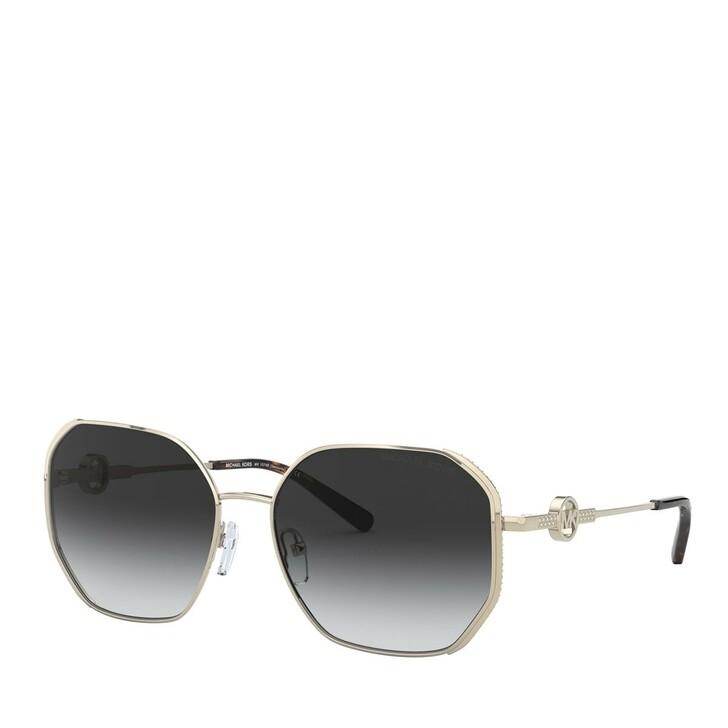 Sonnenbrille, Michael Kors, METALL WOMEN SONNE LIGHT GOLD
