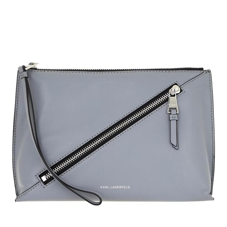Handtasche, Karl Lagerfeld, Odina Pouch Washed Indigo