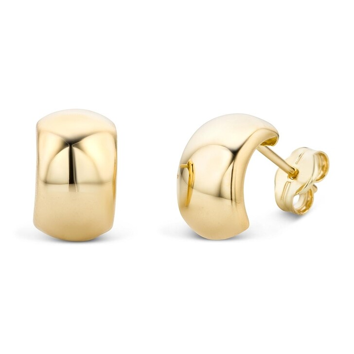 Ohrring, DIAMADA, 14KT Earring  Yellow Gold