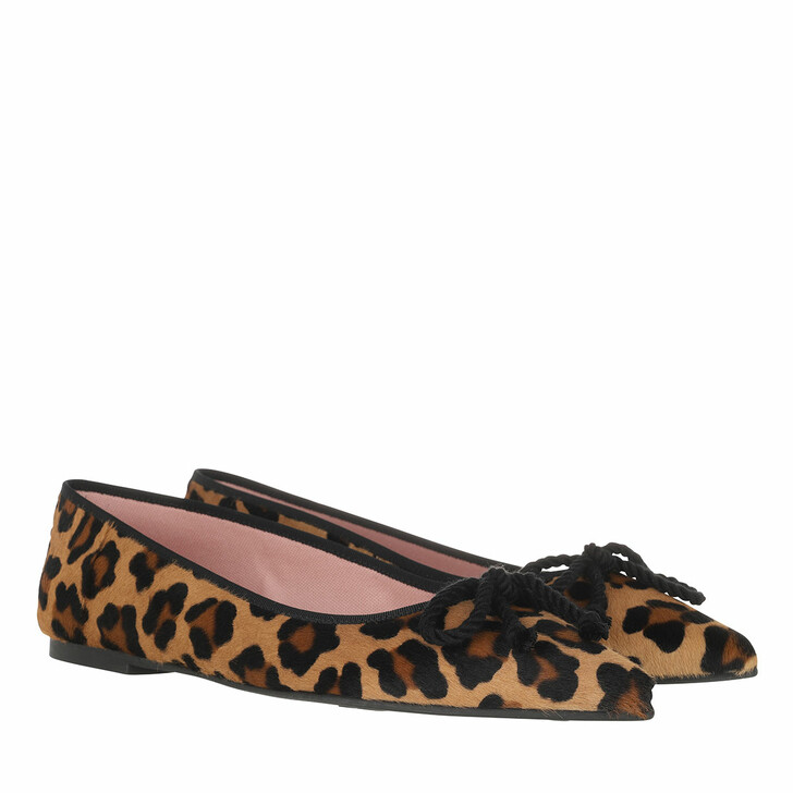Schuh, Pretty Ballerinas, Ella Ballerina Shoes Leo print