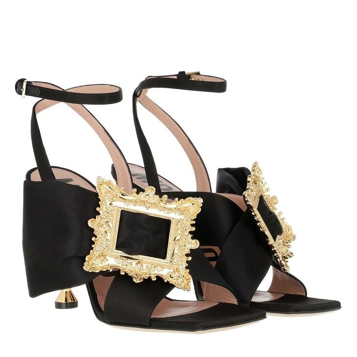 Schuh, Moschino, Lodge Sandals Black