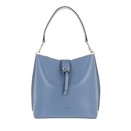 coccinelle -  Beuteltasche - Alba Textured Bucket Bag - in blau - für Damen